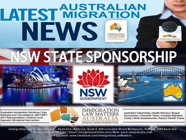 NSW Regional 489 - Immigration Law Matters - Australia